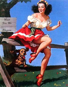 Wait for Me - Gil Elvgren