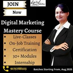 Choose Digital Marketing..... It's one of the top three highly demanding careers during COVID19. Digital platter learning studio will help you get trained and certified in digital marketing course. So, that you should work as a Digital Marketer like a 'Pro'. So don't waste your precious time as seats are filling fast.... Enroll now!!! Contact us on 9175788103 Digital Marketing Services, Email Marketing, Content Marketing, Social Media Marketing, App Development, Platter, Learning, Studio, Top