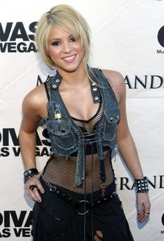 La camaleónica Shakira