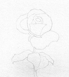 "Barbara Fox Art Studio: Painting Tutorial- ""Perfectly Pink"" rose"