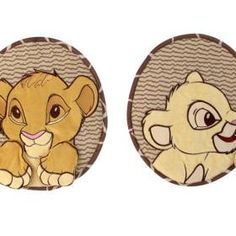 THE LION KING Go Wild 2-Piece Soft Wall Hanging