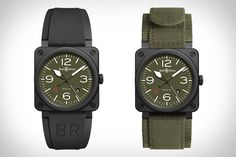 You don't need to be a soldier to appreciate the practical looks of the Bell & Ross BR03 Military Type Watch. Inspired by the military, it features a green dial with white markings that's easy to read both day and...