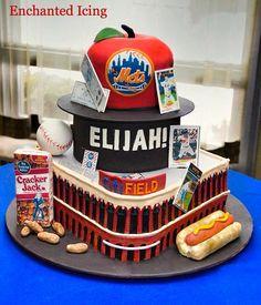Lets Go Mets Cake