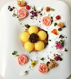 Savouring Citrus — Lavonne : Academy of Baking Science and Pastry Arts Chefs, Baking Science, Dessert Presentation, Michelin Star Food, Pastry Art, Wedding Desserts, Molecular Gastronomy, Culinary Arts, Plated Desserts