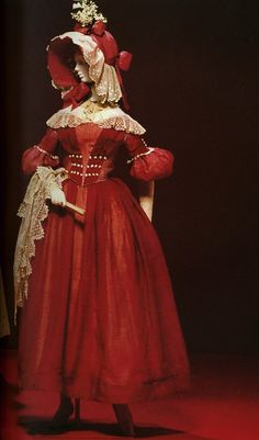 Late 1830s sheer dress. Kyoto Costume Institute