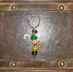 European Heart Key Chain ~ $10.00