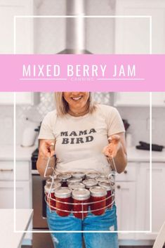 canning mixed berry