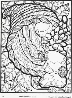 Let Doodle Coloring Pages | Blast from the Past: Let's Doodle! Coloring Sheets | Inside Insights