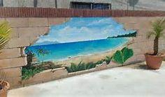 outdoor block wall ideas - Bing Images