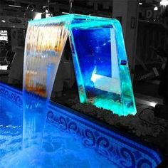 Piscina Interior, Pool Waterfall, Led, Cube, Aquarium, Bathtub, Tile Cutter, Fish Tanks, Sims 4