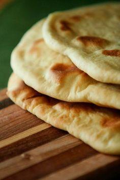 Homemade Naan | Rincón Cocina