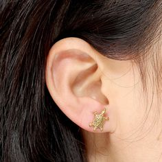 2pc Stainless Steel Sea Turtle Cartilage Helix Stud Earrings 16 Gauge – Ayliss #silverearrings #fashion #Unbranded #earring #rioritajewelry #goldplated #sterlingsilver #silverearringsforsale #goldhoops #beadedhoops #giftsforwomen #valentinesday #valentines #beadedhoops #turquoiseearrings #turquoisebeads #silverturquoise #love #etsyfinds #gift
