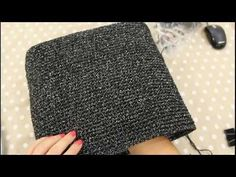 TUTORIAL: borsa O'Bag by lafatatuttofare-materiali www.tessiland.com - YouTube
