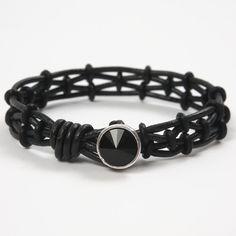 Collection of Unisex Leather Bracelet Tutorials