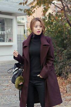 Must Collar Coat | Korean Fashion
