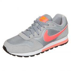 Nike Sportswear MD Runner 2 Sneaker grau orange weiß   Sneaker bei OUTFITTER