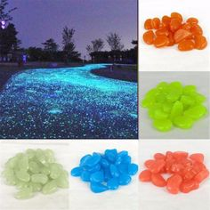 Make your driveway look like something out of a fairy tale with these glow stones. It's perfect for transforming the look of your home into something of a magic land. Grab it here =>> Early sellout expected! Like, Comment & Share with your friends now! Backyard Lighting, Outdoor Lighting, Outdoor Decor, Patio Design, Garden Design, Casa Wabi, Glow Rock, Rock Pathway, Glow Stones