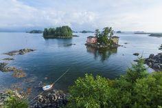 Questa casa sull'isola Baranof, Alaska