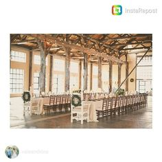 great vancouver wedding repost from A light-filled warehouse venue in Vancouver with views of downtown all dressed up in elegant wedding style. More on Vale + Vine. Vancouver Wedding Venue, Wedding Reception Venues, Wedding Vendors, Wedding Blog, Wedding Styles, Receptions, Dream Wedding, Weddings, Elegant Wedding