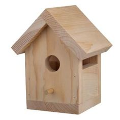 Houseworks Bird House Wood - The Home Depot Houseworks Bird House Kit Fun Projects For Kids, Woodworking Projects For Kids, Diy Woodworking, Wood Projects, Woodworking Magazine, Woodworking Machinery, Woodworking Classes, Woodworking Furniture, Project Ideas