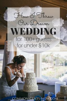 For all you budget brides out there, find out how I threw our dream wedding in San Diego on the water for under $10k!  Full bar & sit down dinner for over 100 people - find out more in my post!  Xoxo Lauren