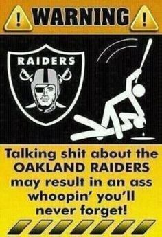 Raiders Nation..