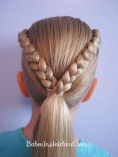 Letter V Hairstyle
