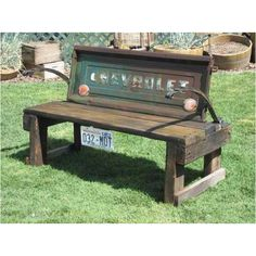 tailgate bench Google Search Craft Ideas