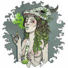 shamelessinhaler: Marijuana art