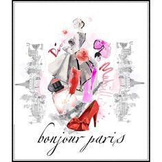 bonjour paris, created by kathy-martenson-sanko.polyvore.com