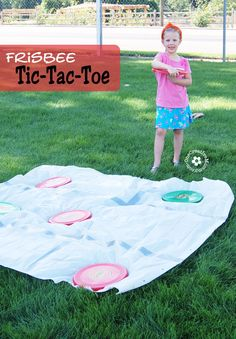 Frisbee Tic-Tac-Toe