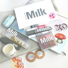 NEW #Makeup is always very exciting especially for #MakeupAddicts like us NEW Brand! @milkmakeup by @milk Is bringing us makeup but with their own flavor!!! The design of each product is modern unique fun and yes different! The eyeliner is in a marker packaging... it's definitely a brand that will stick in your head after u see it. Please head over to our snapchat 'Trendmood' to get a closer look Some of the products are available online now @Sephora and the whole collection will be av...