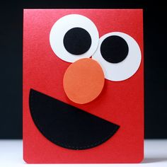 Card: Elmo Card for a 2 year old