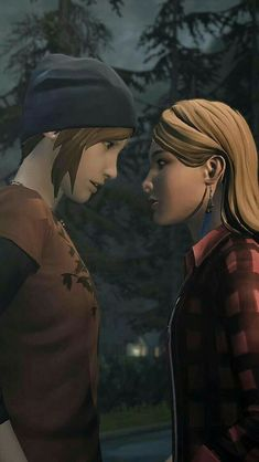 《Life Is Strange: Before the Storm / Chloe Price and Rachel Amber》
