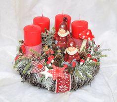 Adventskranz - Kranz Advent Winter - ein Designerstück von Sotilala bei DaWanda