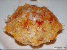 Muffins salados de chorizo y pimiento
