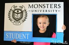 Monster University ID Card for Party