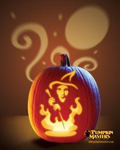 """Spellbound"" pattern from the Pumpkin Masters Sensational Shadows Kit."