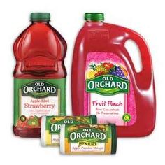 NEW Old Orchard Juice Coupons!