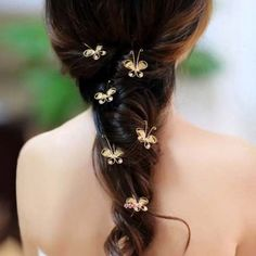 This is a default index page for a new domain. Flower Girl Hairstyles, Braided Hairstyles, Wedding Hairstyles, Bridesmaid Hairstyles, Butterfly Wedding, Butterfly Hair, Headpiece Wedding, Bridal Hair, Pageant Hair