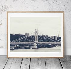 Vintage Inspired Battersea Photography Print London by thisiscArrt