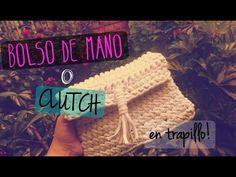 ¿Cómo hacer un bolso de mano o Clutch? En trapillo, fácil y rápido! - HandMade Ideas - YouTube