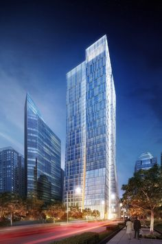Sequis Centre Tower,KPF, Jakarta, - 210 m, 39 fl, prop. - http://www.archdaily.com/463217/sequis-centre-tower-kpf/