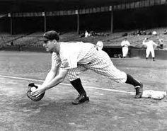 Lou gehrig catching