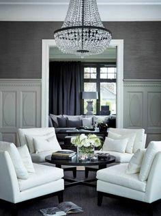 flur einrichten flur tapeten grau tapete grau | wanddeko für ein ... - Wohnzimmer Gestalten Tapeten