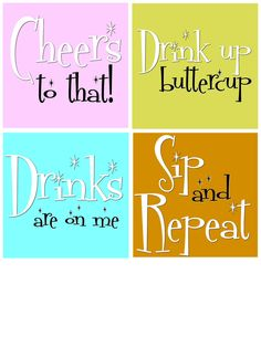 Make funny coasters that will last by using weather proof printable labels, a free printable, and resin. Funny Coasters, Diy Coasters, Printable Labels, Free Printables, Embossing Tool, Coaster Art, Cnc Projects, Paint Drying, The Cure