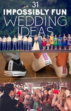 Diy Projects: 31 Impossibly Fun Wedding Ideas seriously I'm doing this.....