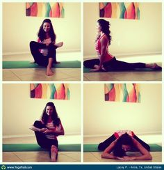 #Yoga Poses Around the World: Lacey P. in Anna, Tx, United States