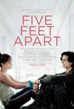 Cole Sprouse & Haley Lu Richardson's New 'Five Feet Apart' Trailer Shows Off Their Hospital Romance - Watch Now!: Photo The new trailer for Cole Sprouse and Haley Lu Richardson's film Five Feet Apart has arrived! The Riverdale actor and the Split actress… Sad Movies, Movies 2019, Hindi Movies, Movie Tv, Justin Baldoni, Haley Lu Richardson, Claire Forlani, Film Disney, Disney Pixar