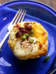 Big O'l Texas Biscuit Baked Eggs